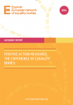 Positive Action Measures. The Experience of Equality Bodies (2014)