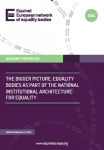 Equality Bodies as part of the National Institutional Architecture for Equality (2014)