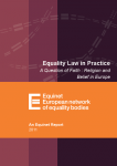 Equality Law in Practice - Religion and Belief in Europe (2011)