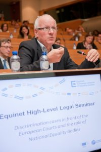 At the 2012 Equinet Legal Seminar (Click to enlarge picture)
