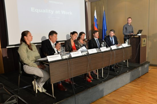Equality at Work Discussion, Slovenia  (Click to enlarge picture)