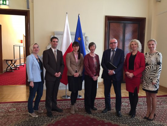 Meeting with the Polish Government Plenipotentiary for Civil Society and Equal Treatment