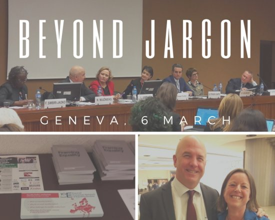 Beyond jargon: High level speakers, Equinet publications, Council of Europe Commissioner for Human Rights, Nils Muižniek together with Anne Gaspard